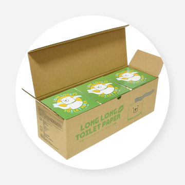 ノベルティ商品・ロングロングトイレットペーパー(ビチクマくん)の写真2